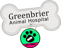 Green Brier Animal Hospital Retina Logo